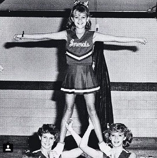 Flashback Friday to Reese Witherspoon's cheerleading days!