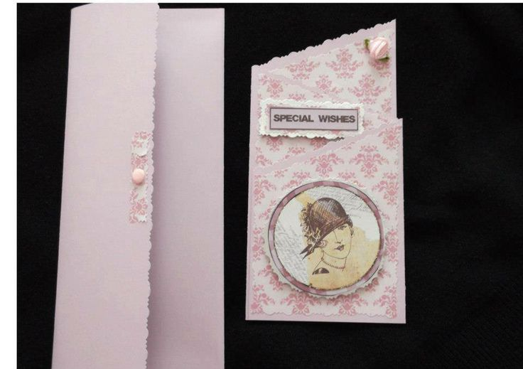 Card with matching envelope Made by Margaret Costello