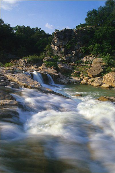 Pedernales Falls State Park, Texas Hill Country.  Family vacation this year!!