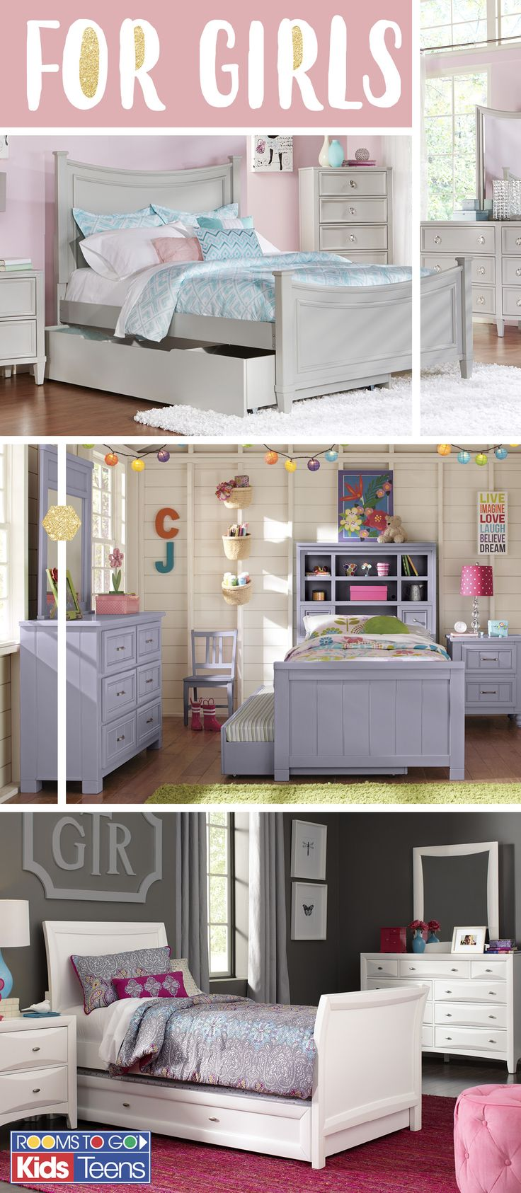 13 best images about Glam & Gorgeous Girls Rooms on Pinterest