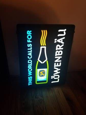 Lowenbrau beer light