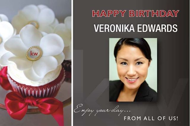 Happy Brithday Veronika! 🎂 - posted by Keller Williams Honolulu https://www.instagram.com/kellerwilliamshonolulu - See more Luxury Real Estate photos from Local Realtors at https://LocalRealtors.com/stream