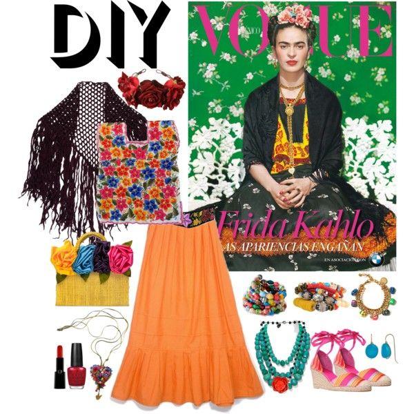 Les 74 meilleures images du tableau deguisement sur pinterest carnavals costume raffin pour - Deguisement frida kahlo ...
