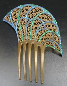 c1925 celluloid comb