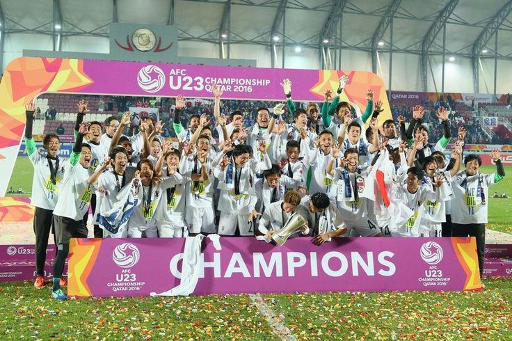 [写真特集]サッカーU23、韓国に3-2の大逆転勝利 アジア王者としてリオ五輪へ