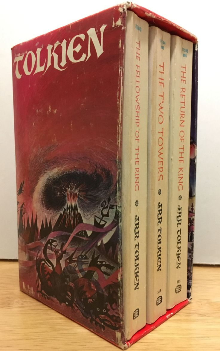 Jrr Tolkien Lord Of The Rings Trilogy Vintage