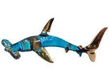 Glastier Hai Glas Tier Glas Haifisch Figur Glasfiguren Kristall Figuren Kristall