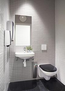 Vägghängd toalett från Artic. Design med raka linjer och räta vinklar. | GUSTAVSBERG