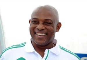 "Stephen Keshi (coach of Nigeria's national football team, the ""Super Eagles"" / former footballer)"