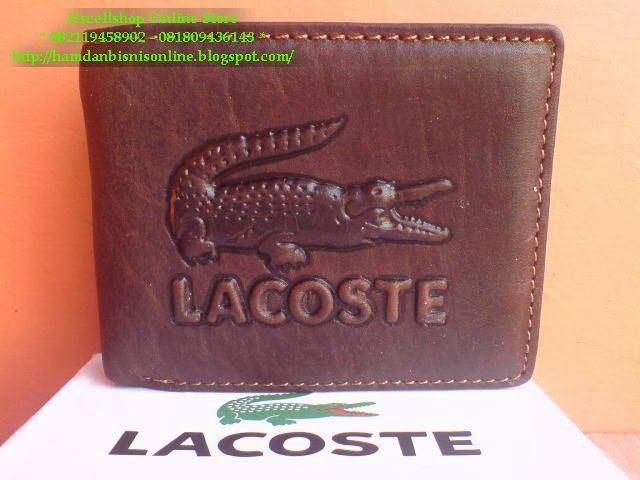hscellshop: Dompet Pria Lacoste Kulit Asli Import code DKS332