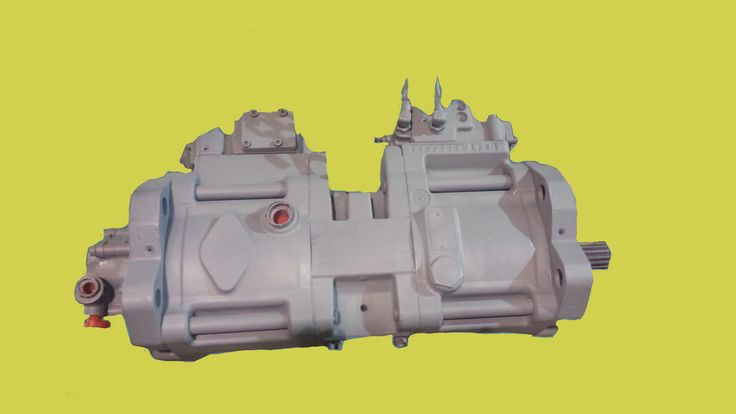Case Excavator #163568A1 Hydrostatic Main Pump Repair