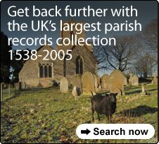 Findmypast UK Parish baptisms, marriages and burials