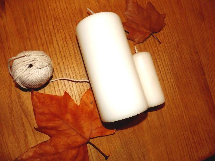 Velas inspiradas no Outono!