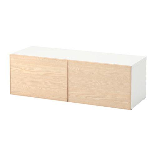 BESTÅ Shelf unit with doors IKEA