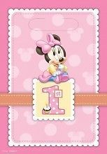 Minnie+Mouse+1st+Birthday+Loot+Bags+8+Count