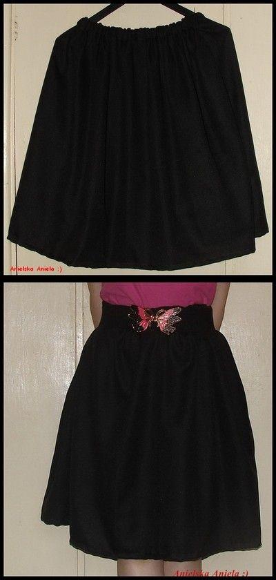 DIY ..tutorial..expresowa...spódniczka  ...skirt in 15 minutes...