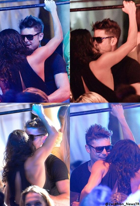 Chatter Busy: Zac Efron And Michelle Rodriguez Kissing In Ibiza Club (VIDEO)