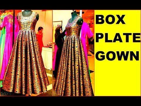 e00cb54404 How to Make Box Pleated Long Skirt || Straight Cut Lehenga Cutting &  Stitching || - YouTube