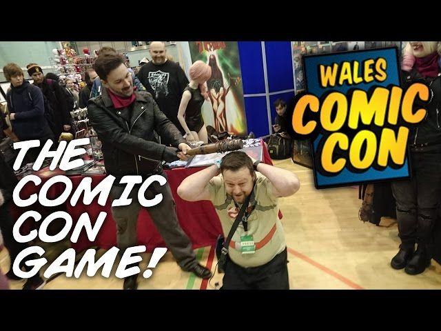 The Comic Con Game! At Wales Comic Con! - Video --> http://www.comics2film.com/the-comic-con-game-at-wales-comic-con/  #Cosplay