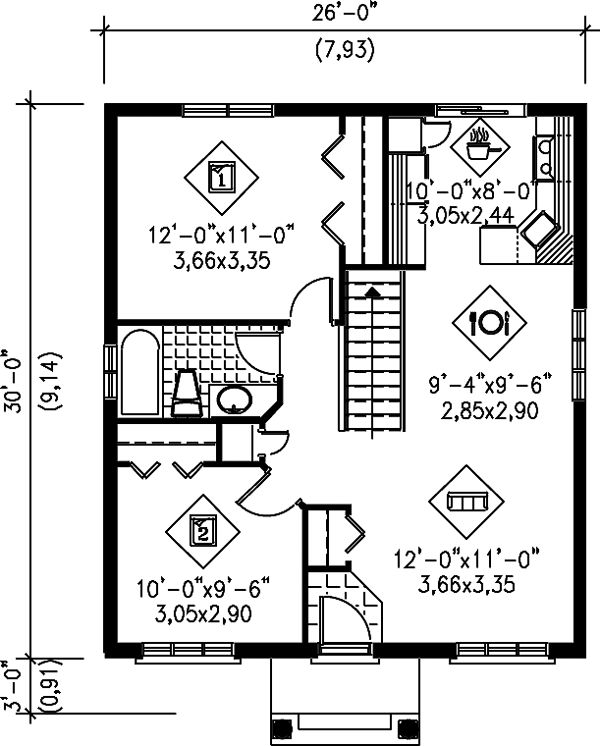 84 best My house plans images on Pinterest | Small house plans ...