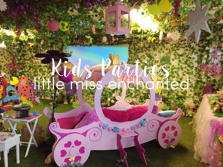 VISIT Little Miss Enchanted - Pampering Party Princess Venue