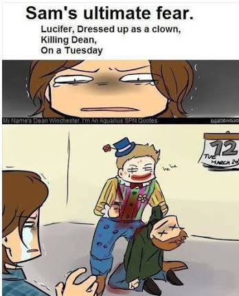 Supernatural ~ Sam's ultimate fear. This should be sad, not adorable :P