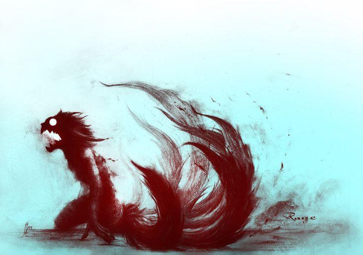 Kyuubi Naruto | Rage by MattBarley.deviantart.com on @deviantART
