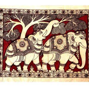 Indian Art: Kalamkari (South Indian Art)