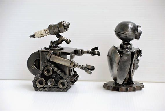 See more Mini Robot Size in below link https://www.etsy.com/shop/Metalmodelhouse?section_id=15897589&ref=shopsection_leftnav_6 See all shop sessions and all models in our shop link below https://www.etsy.com/shop/Metalmodelhouse?ref=hdr_shop_menu Mini Robot metal model is made