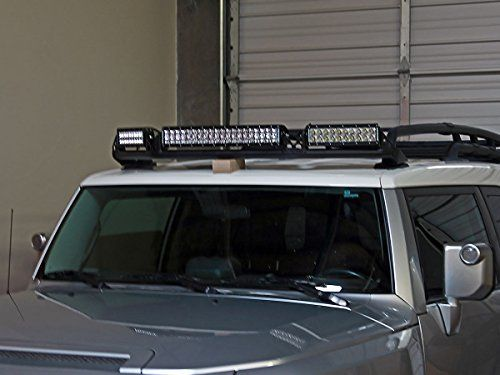 Rigid Industries Toyota FJ Cruiser (05-14) E Series Light Roof Rack Kit