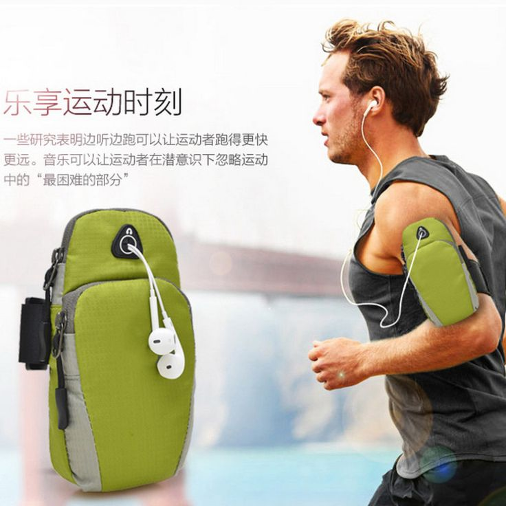 5.5inch Sports Running Jogging Gym Armband Arm Band Holder Bag For Mobile Phones free shipping Well Sell