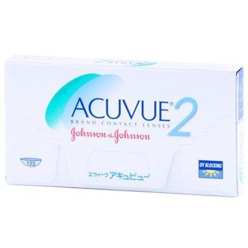 ACUVUE 2contact lenses offer high quality comfort and clear vision. With a unique edge design, ACUVUE 2 contacts are designed for easy handling and quick application. Renowned for a high level of oxygen permeability, these lenses offer a high level of comfort for moist healthy eyes. According to the manufacturer - more than 70% of people who wear ACUVUE 2 Contact Lenses get better than 20/20 vision.