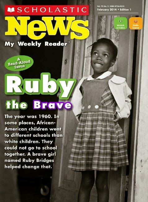 Scholastic News About Ruby Bridges Exploring Social