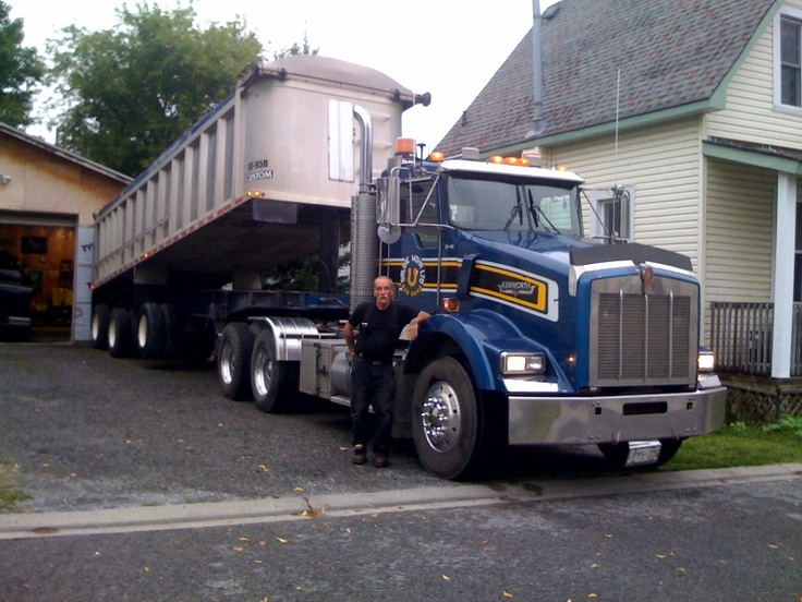 Tri Axle Cabover : Best trucks images on pinterest big heavy