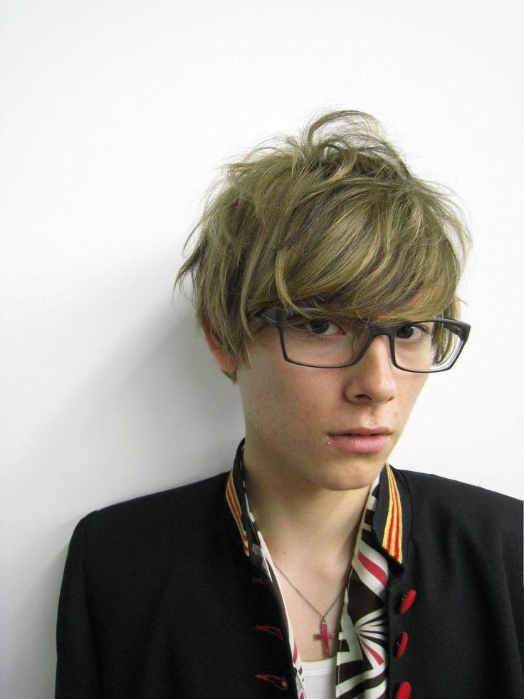 髪型 メンズ メガネ - Google 検索