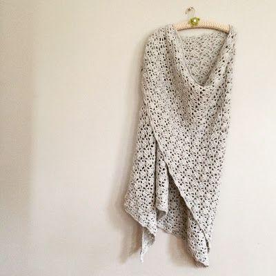 Haak-en-stekie: Elise shawl V.2