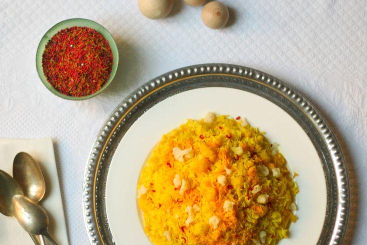 Cauliflower Golden Rice