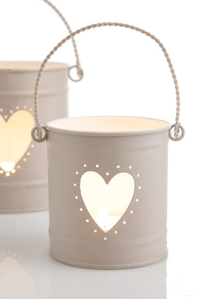 So cute and romantical - Heart Candle Lantern