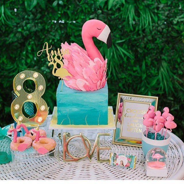 Temas de fiesta para niña de flamingos | Ideas para las fiestas Infantiles, Par…