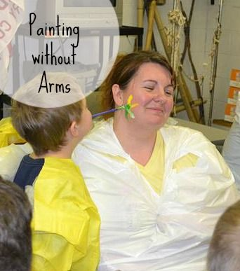 Face Painting without arms
