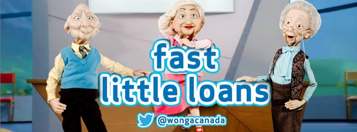 Fast little loans: https://www.wonga.com