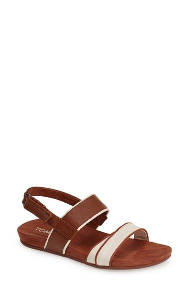 TOMS+'Tierra'+Leather+Sandal+(Women)+available+at+#Nordstrom