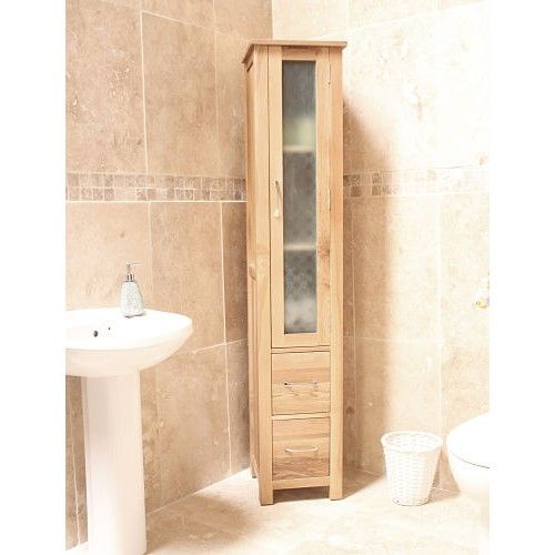 Fancy Get this Bonsoni Mobel Oak Closed Bathroom Unit Tall today and end your quest to find a quality Bonsoni Mobel Oak Closed Bathroom Unit Tall
