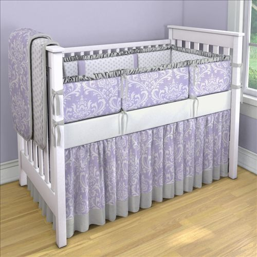 lilac nursery bedding 2
