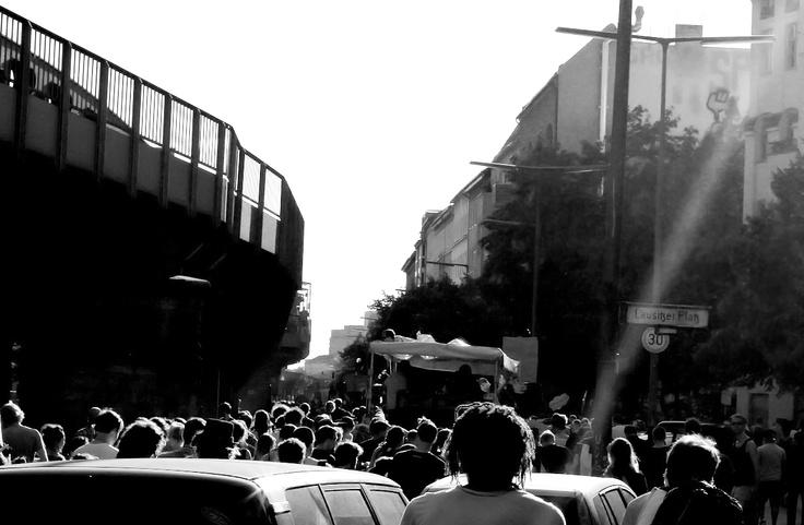 Demo, Berlin-Kreuzberg, July 2011