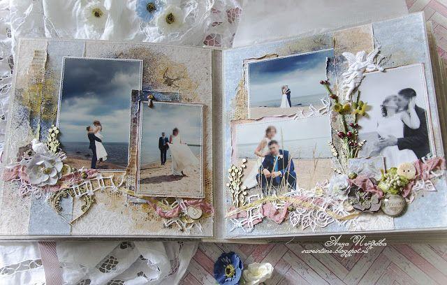 Maja Design Vintage Romance Wedding Album