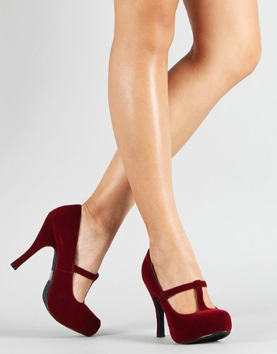 13 best Red Heels images on Pinterest | Red heels, Mary jane pumps ...