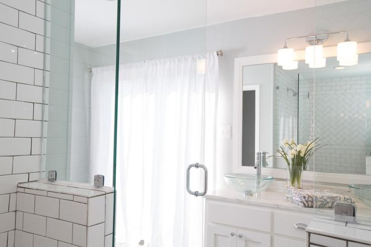 Master Bathroom Shower Tile Joanna Gaines