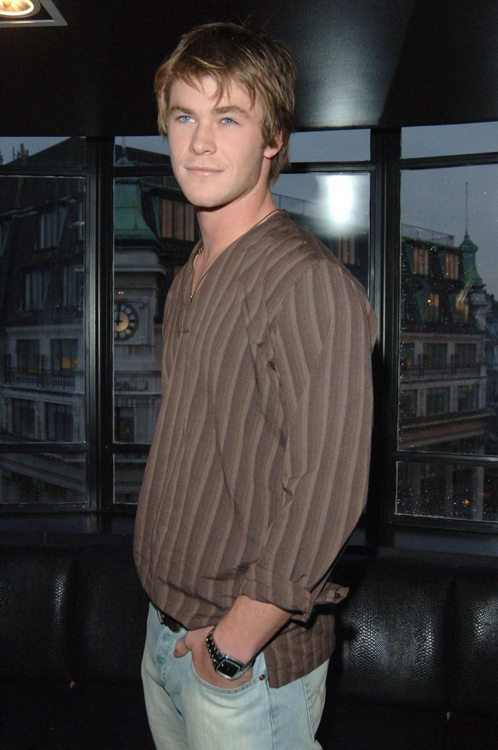 Pin for Later: A Nostalgic Look Back at Celebrities' Earliest Red Carpet Appearances Chris Hemsworth, 2005