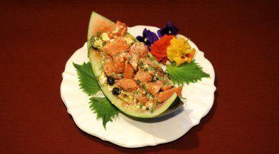 Rezept: Hawaiianischer Wassermelonensalat (Estefania Küster)
